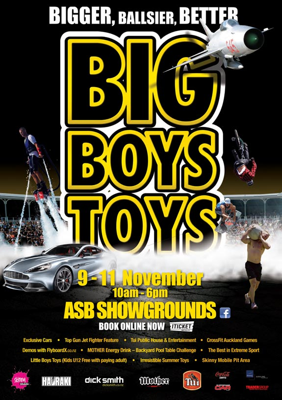 Big Boys Toys 2012