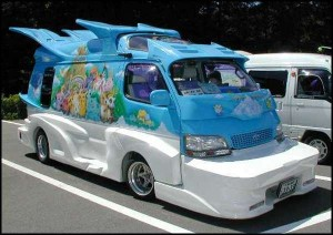 Super trippy and ugly van!