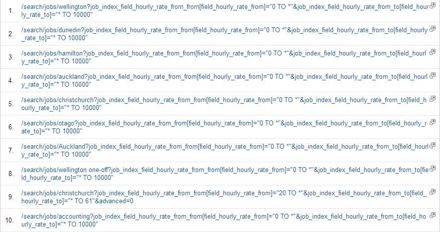 Before URL Rewrites