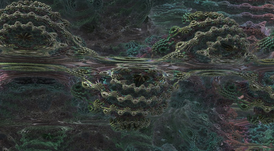 4k Mandelbulb Render Reflections set too high
